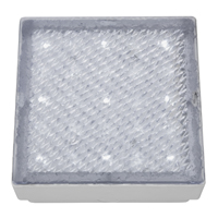 Picture of Clear Small Square Walkover - White LED
