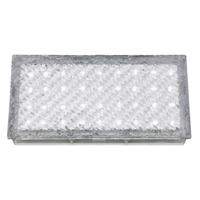 Picture of Clear Rectangle Walkover - White LED