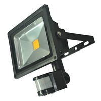 Picture of COB LED Floodlight with PIR Sensor