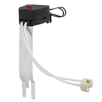 Picture of Mains & Low Voltage Lampholders with bracket
