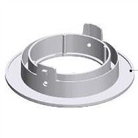 Picture of IP65 89mm Universal Aluminium Downlight Bezel Accessory