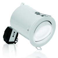 Picture of 240V SGU10 Aluminium Adjustable 11W Low Energy Downlight Fire Protection