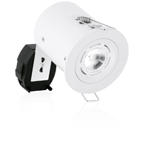 Picture of Mains Voltage Fire Rated Fixed GU10 Spotlight