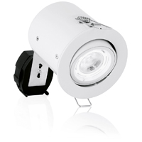 Picture of Mains Voltage Fire Protected Adjustable GU10 Spotlight