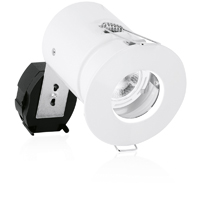 Picture of  Mains Voltage Fire Rated IP65 Rated Fixed GU10 Spotlight