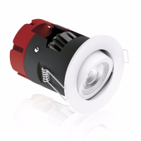 Picture of m10 Adjustable 8.5W Dimmable LED Fire Rated Downlight