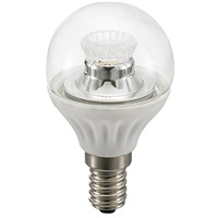Picture of 4W LED Clear P45 Dimmable Bulb E14