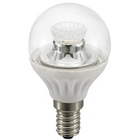 Picture of 4W LED Clear Non-Dimmable P45 Bulb E14