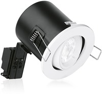Picture of GU10 Adjustable Lock Ring Aluminium Fire Rated Downlight