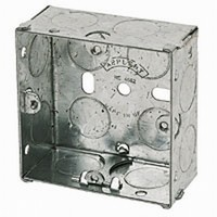 Picture of Galvanised boxes for switches & sockets