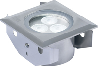 Picture of 3W Square LED Ground Light