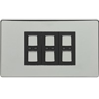 Picture of LightwaveRF 210W 3 Gang Dimmer - Chrome