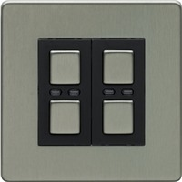 Picture of LightwaveRF Double Slave Dimmer Switch