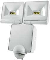 Picture of 2x 8W LED Energy Saver PIR Floodlight - White