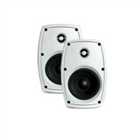 "Picture of Mercury Pair of 4"" White Speakers"