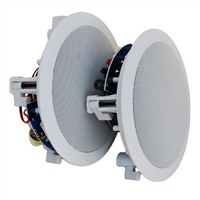 "Picture of Mercury Pair of 5 1/4"" White Ceiling Speakers"