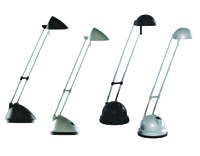 Picture of Pack 24 Mixed Task Lamps - Silver and Black