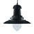 Picture of Fisherman 1 Light Ceiling Black Pendant