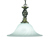 Picture of Marble Glass Pendant Complete with Antique Brass Suspension