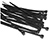 Picture of Nylon Black Cable Ties - 250 x 4.8/74.0mm/22kg