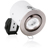 Picture of Mains Voltage Fire Protected Adjustable GU10 Spotlight Satin Nickel