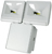 Picture of 2x 8W LED Energy Saver Floodlight - White
